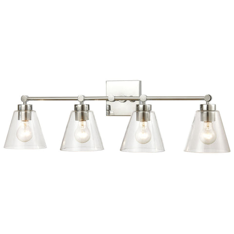 East Point 4-Light Vanity Light Clear Glass