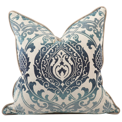 "Davida Kay Damask 20"" x 20"" Pillow - Down Insert"