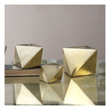 Rhombus Champagne Accents, Set of 3