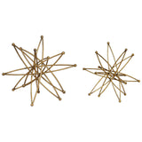 Constanza Gold Atom Accessories, Set of 2