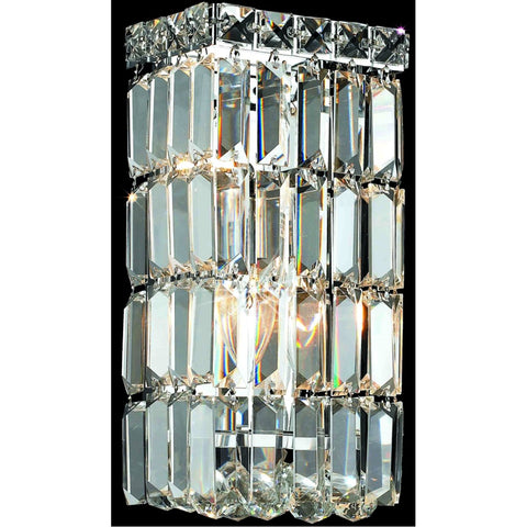 Maxime 2-Light 12-Inch Wall Sconce in Chrome