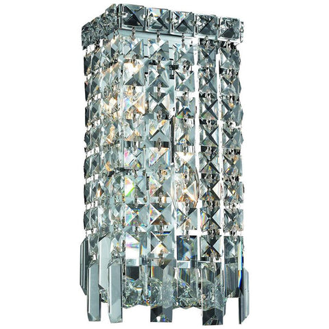 Maxime 2-Light Chrome Wall Sconce