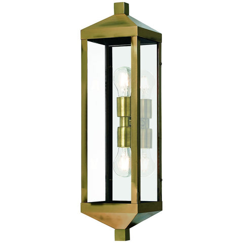 Nyack 2-Light Outdoor Wall Lantern