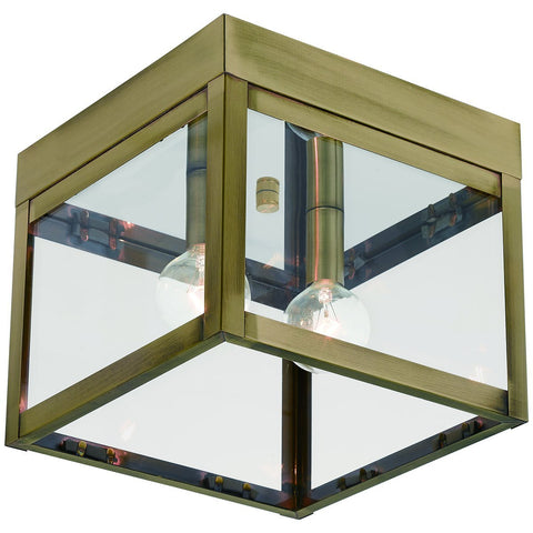 Nyack 2-Light Outdoor Ceiling Mount