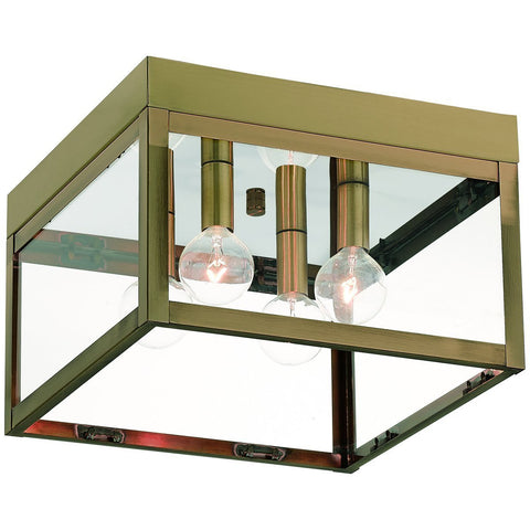 Nyack 4-Light Outdoor Ceiling Mount