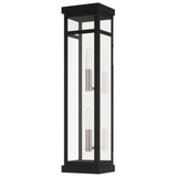 Hopewell 2-Light Outdoor Wall Lantern, 5.5W x 22H