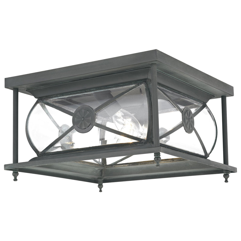 Providence 2-Light Outdoor Ceiling Mount