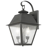 Mansfield 2-Light Outdoor Wall Lantern