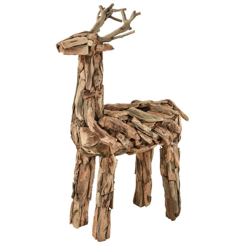 Tidings of Joy Driftwood Reindeer