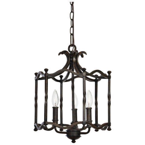 Candela 3-Light Pendant