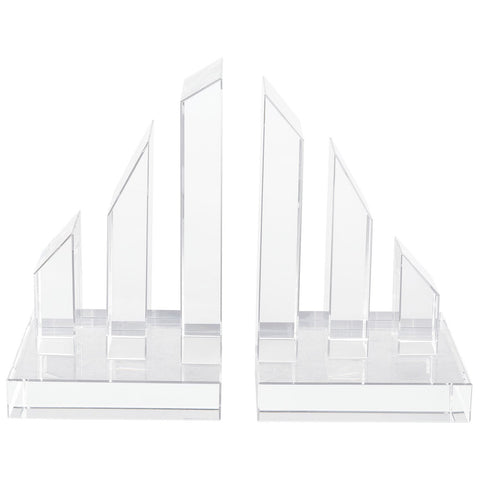 Degrees Crystal Bookends