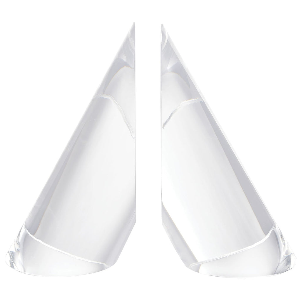 Chilling Crystal Bookends