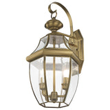 Monterey 2-Light Outdoor Wall Lantern