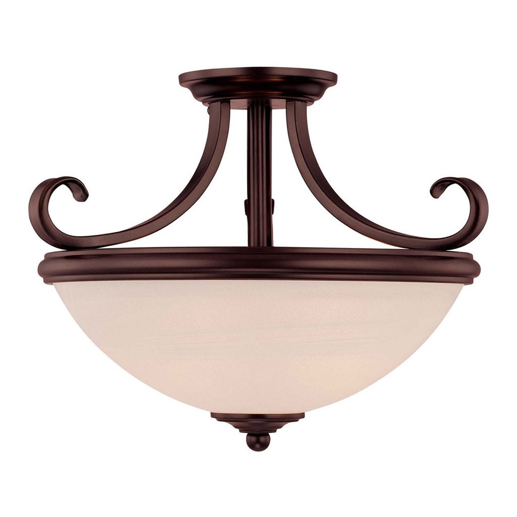 Willoughby 2-Light Semi Flush