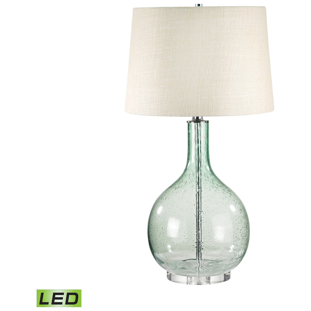 Green Seed Glass LED Table Lamp
