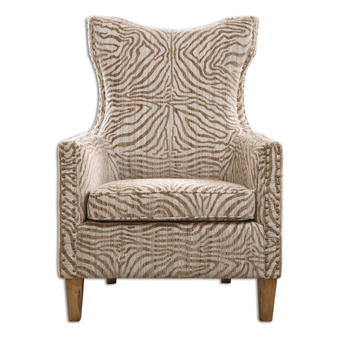 Kiango Animal Pattern Armchair