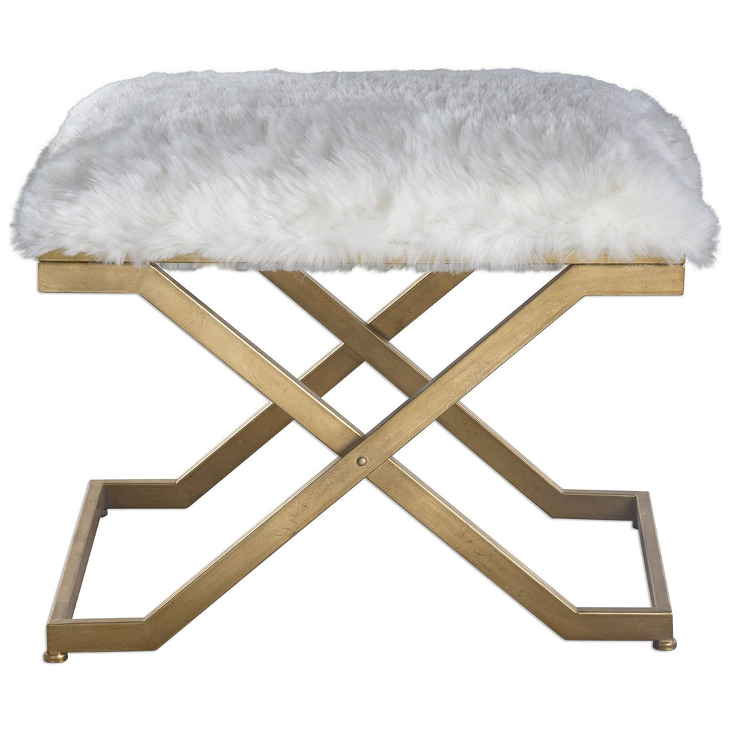 Farran Fur Small Bench