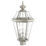 Georgetown 3-Light Outdoor Post Lantern