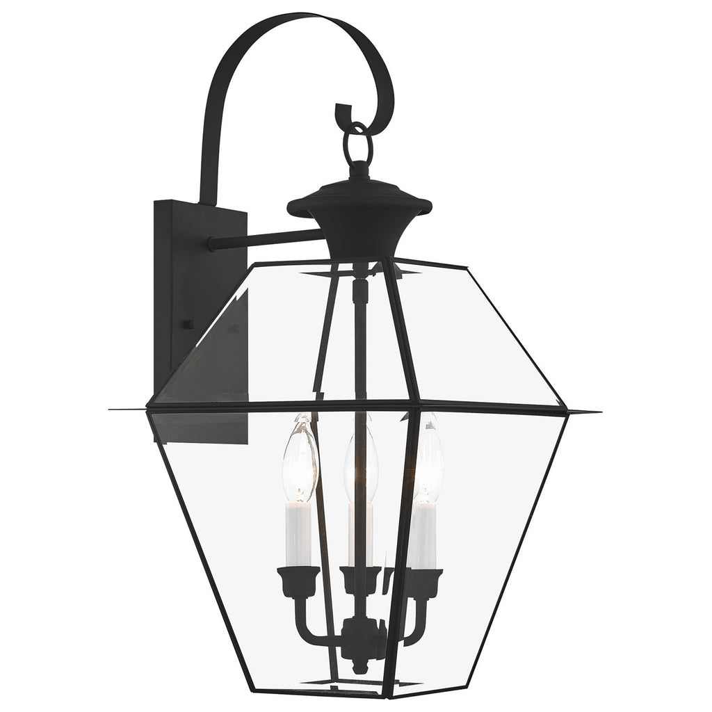 Westover 3-Light Outdoor Wall Lantern