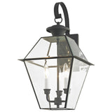 Westover 3-Light Charcoal Outdoor Wall Lantern
