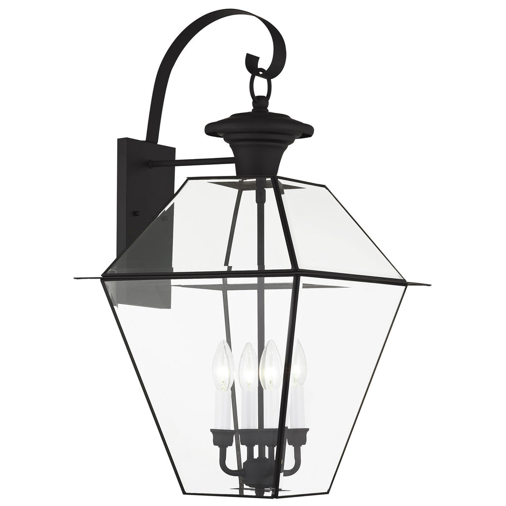 Westover 4-Light Outdoor Wall Lantern