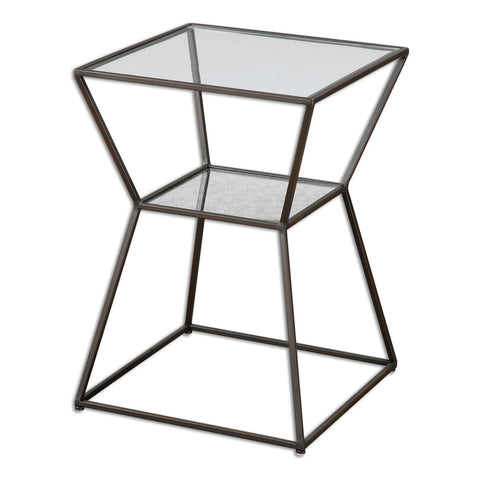 Auryon Iron Accent Table