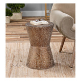 Cutler Drum Shaped Accent Table