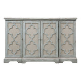 Sophie 4 Door Grey Cabinet
