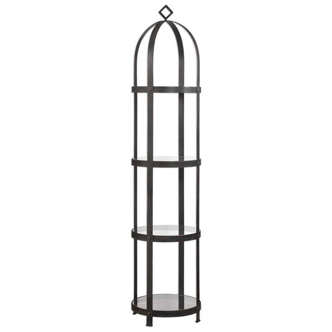 Welch Industrial Iron Etagere
