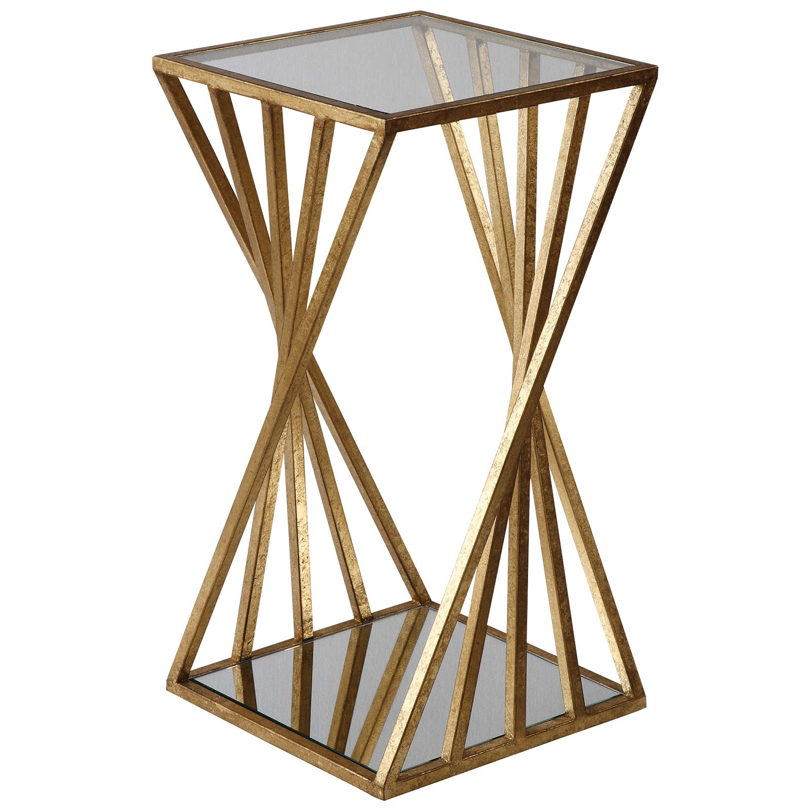 - Gold Accent Tables, Contemporary Accent Tables, Janina Accent