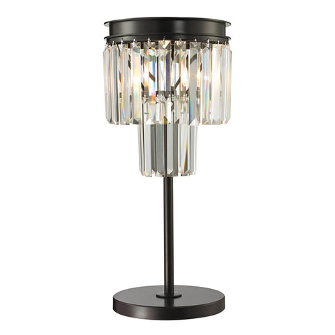 1-Light Table Lamp in Oil Rubbed Bronze