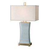 Cantarana Blue Gray Table Lamp