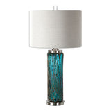 Almanzora Blue Glass Lamp