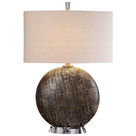 Chalandri Rust Bronze Lamp