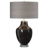 Vrana Dark Gray Table Lamp