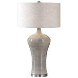 Dubrava Light Gray Table Lamp