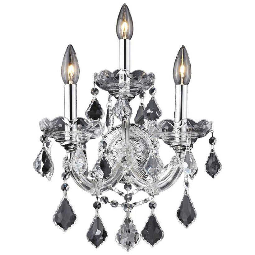 Maria Theresa 3-Light Wall Sconce