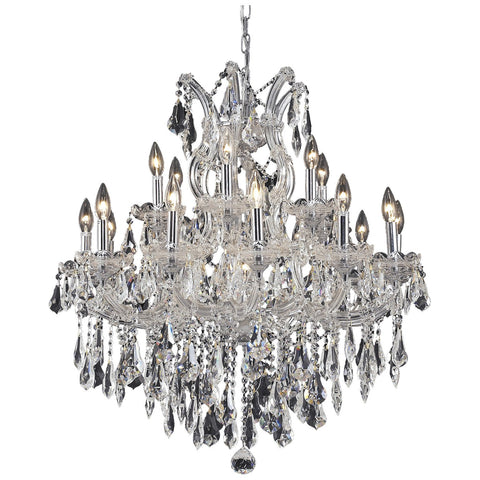 Maria Theresa 19-Light 30-Inch Chandelier with Crystal