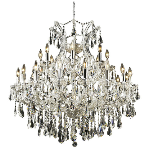 Maria Theresa 24-Light Chandelier with Crystal