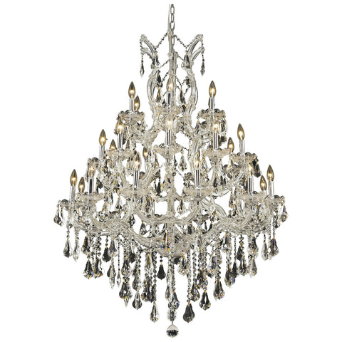 Maria Theresa 28-Light Chandelier with Crystal