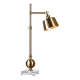 Laton Brushed Brass Task Lamp