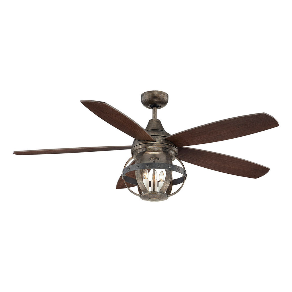 "Alsace 52"" Reclaimed Wood Ceiling Fan"