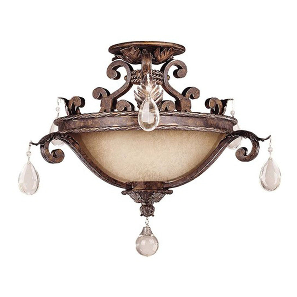 Chastain 3-Light Semi-Flush