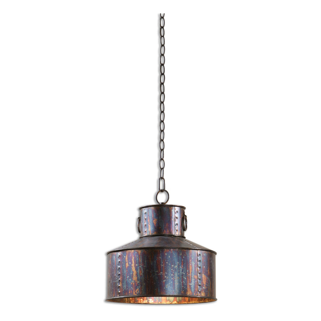 Giaveno 1 Light Oxidized Bronze Pendant