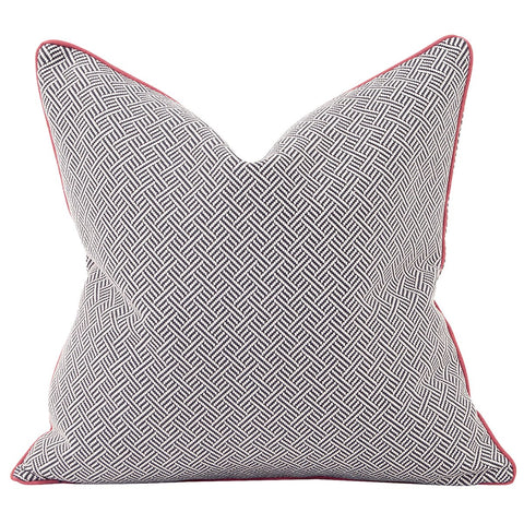 Madcap Cottage Beach Club Rhubarb Pillow - Down Insert