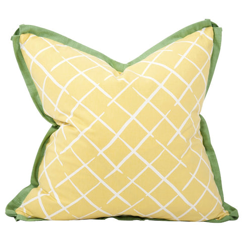 "Madcap Cottage Cove End 24"" x 24"" Pillow - Down Insert"