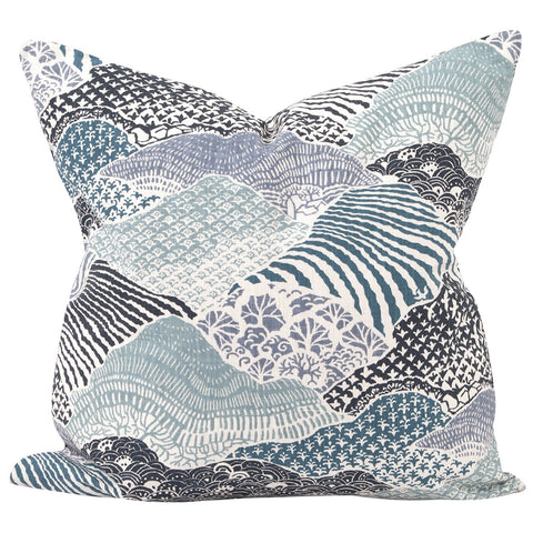 "Madcap Cottage Windsor Park 24"" x 24"" Pillow - Down Insert"
