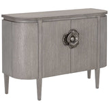 Briallen Demi-Lune Cabinet, Winter Gray