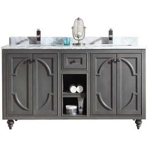 "Odyssey Collection 60"" Vanity with Countertop"