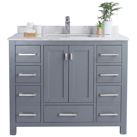 Wilson 9-Drawer 2-Door Cabinet with Countertop
